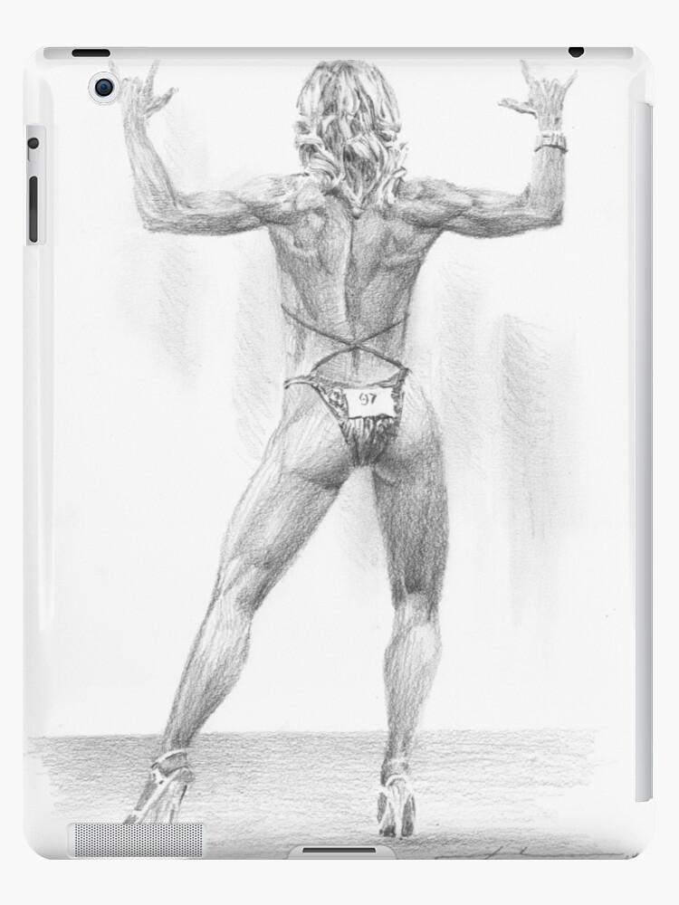 Femme Dessin Corps dessin de corps femme dessin », coques et skins ipad par mike theuer