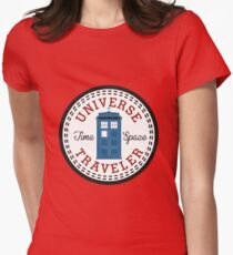 Converse Doctor Who Womens Fitted T-Shirt