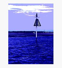 Boat Marker  Photographic Print