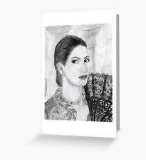 #32 Ines Sastre  Greeting Card