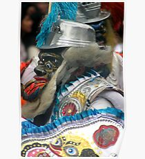 Folk Dancing Corso Wong Poster
