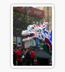 Chinese Dragon - Corso Wong Sticker