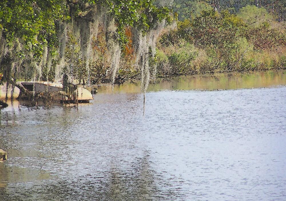 Bayou Liberty Louisiana by Clarence R. Walker