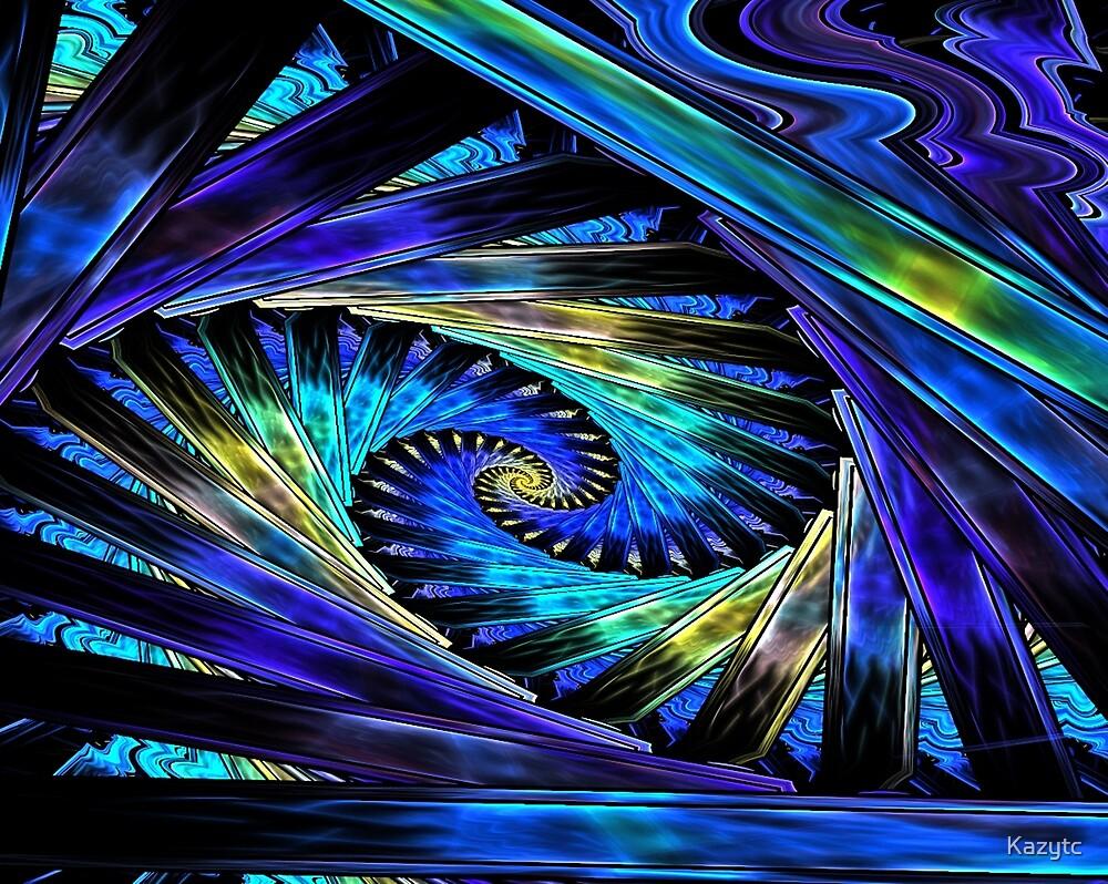 Spirals Within Spirals by Kazytc