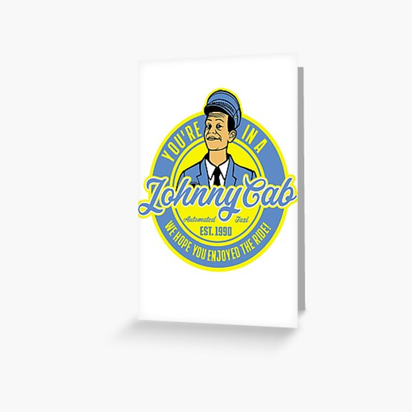 JohnnyCab Greeting Card