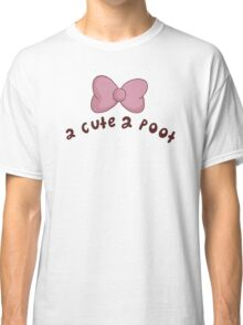 2 Cute 2 Poot: Bee and Puppycat! Classic T-Shirt