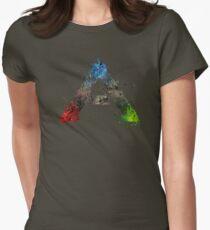 Ark Survival Splatter Womens Fitted T-Shirt