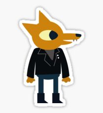 Night in the Woods - Gregg Sticker