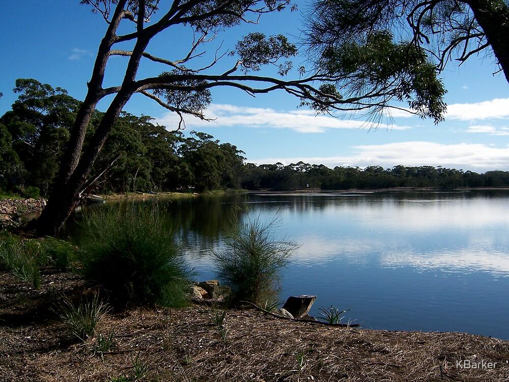 Lake Tabourie, Australia 2007 by KBarker