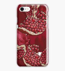 Pomegranate Pattern iPhone Case/Skin