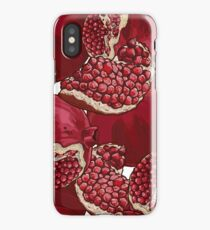 Pomegranate Pattern iPhone Case