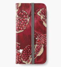 Pomegranate Pattern iPhone Wallet/Case/Skin