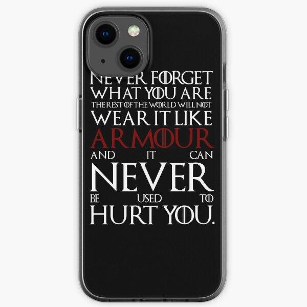 Wear It Like Armor Funda blanda para iPhone