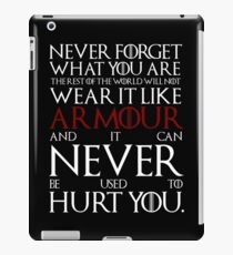 Wear It Like Armour iPad Case/Skin