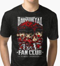 BabyMetal (Chibi) Fan Club Tri-blend T-Shirt