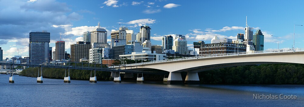 Bridge to Brisbane by Nicholas Coote