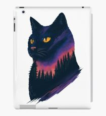midnight cat iPad Case/Skin