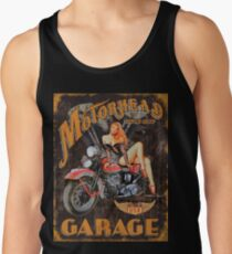 Motorhead Garage Vintage Poster Tank Top