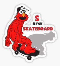 Elmo Skateboard Sticker