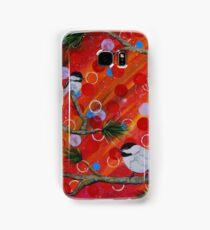 3 Chickadees Samsung Galaxy Case/Skin