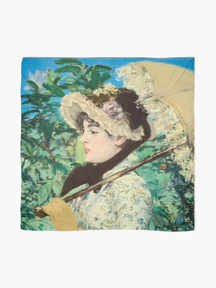 Alternate view of Manet's Jeanne Scarf