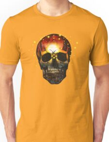 Sunset Time - Skull Unisex T-Shirt