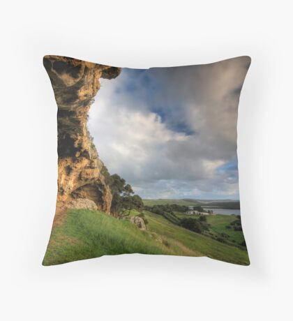 Bridgewater Caves Throw Pillow