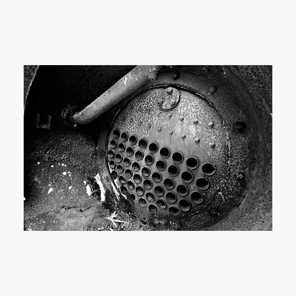 Boiler Detail Photographic Print