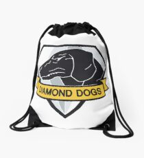 Diamond Dogs Drawstring Bag