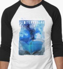 Mediterranean sea Men's Baseball ¾ T-Shirt