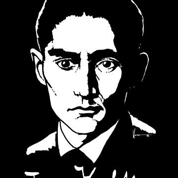 Franz Kafka (Dark) by Astrobeej