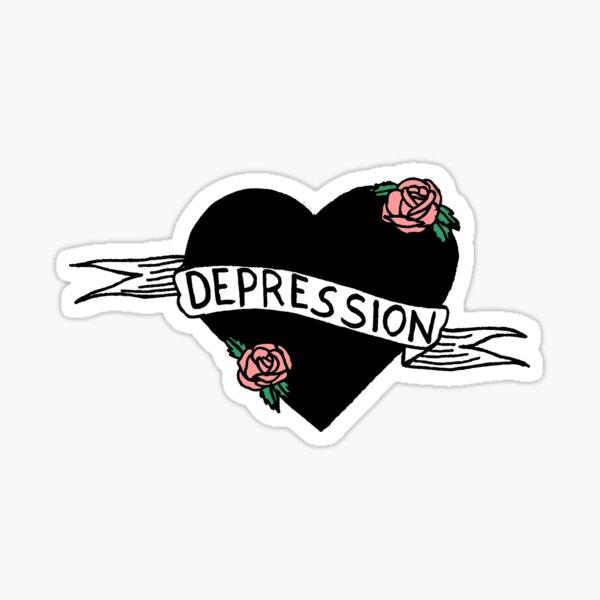 Depression Sticker