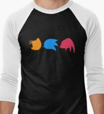 Sonic, Knuckles and Tails (black) T-Shirt