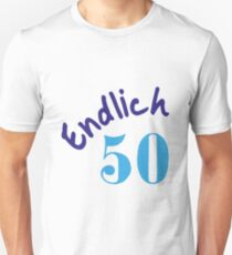 50th Birthday Unisex T Shirt