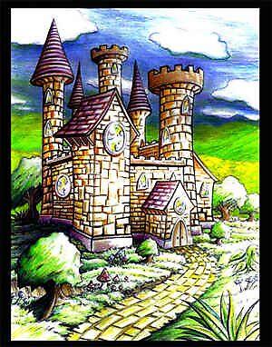 Magic castle by GlennPearce