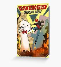 SEVEN ZERO SEVEN Mystic Messenger Collection Greeting Card