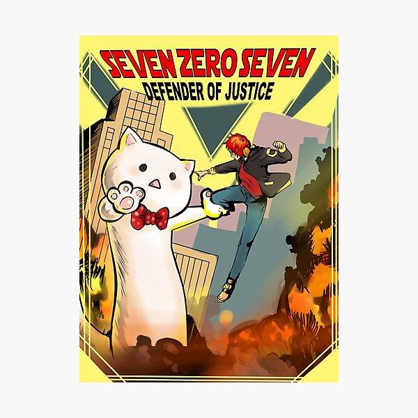 SEVEN ZERO SEVEN Mystic Messenger Collection Photographic Print