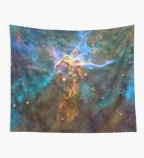 Galaxy Golden treasures Wall Tapestry