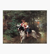 Ernst Bosch - A Safe Crossing Photographic Print