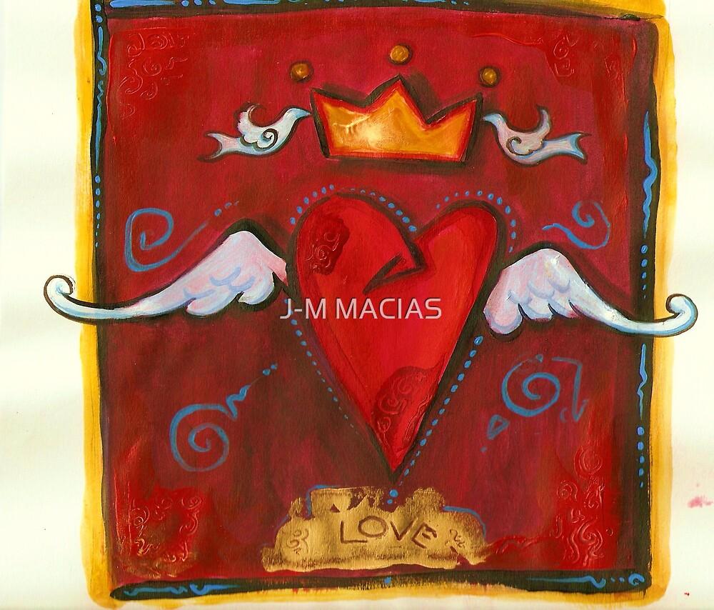 king heart by J-M MACIAS