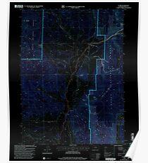 USGS TOPO Map Colorado CO Clark 232574 2000 24000 Inverted Poster