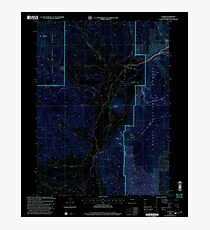USGS TOPO Map Colorado CO Clark 232574 2000 24000 Inverted Photographic Print