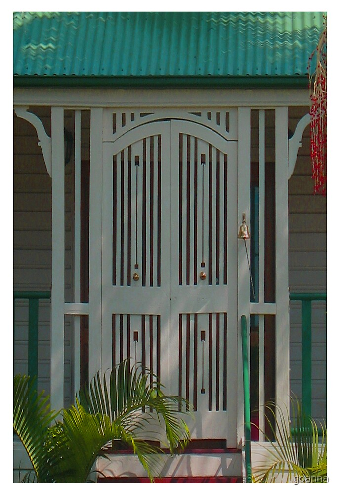 Queensland door by goanna