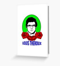 louis theroux with flower Greeting Card