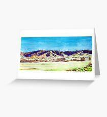 Landscape of NSW Australia Greeting Card