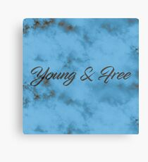 Young and free  Canvas Print