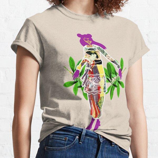 Girl in Utamaro Dress Classic T-Shirt