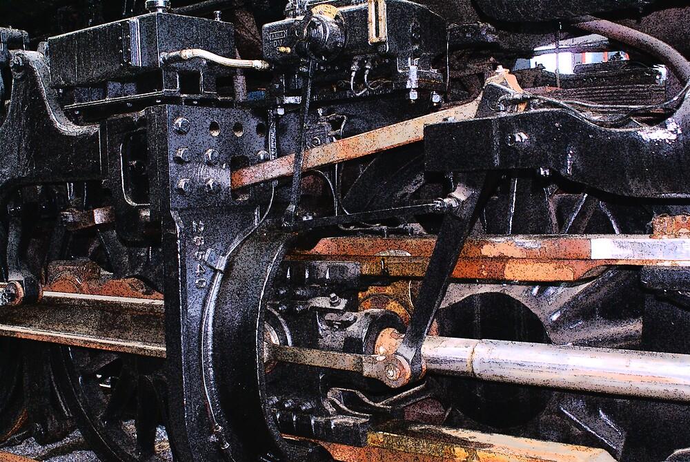 Train Works by Rod  Adams
