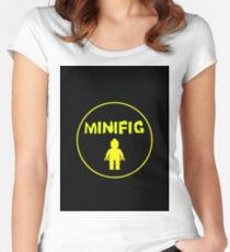 MINIFIG Women's Fitted Scoop T-Shirt
