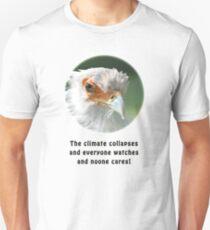 Upset Secretary Bird Unisex T-Shirt
